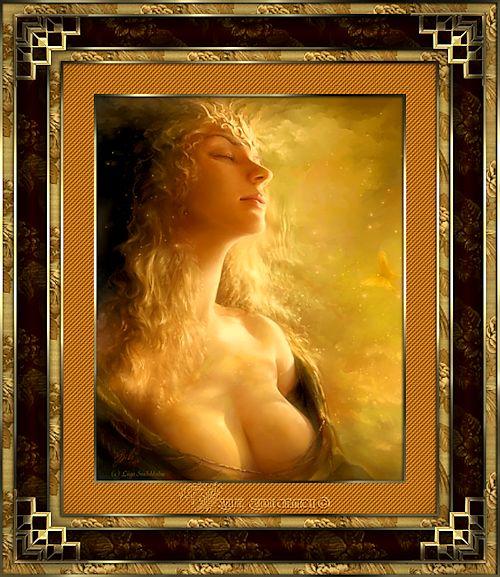 Cadre ange et fée 17