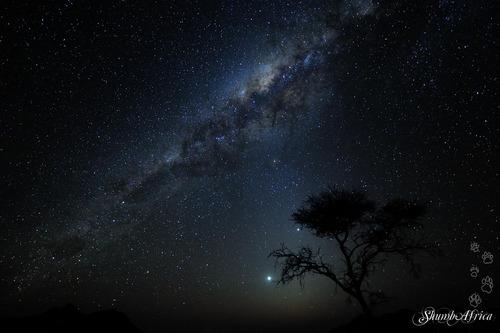Milky Way over Namtib