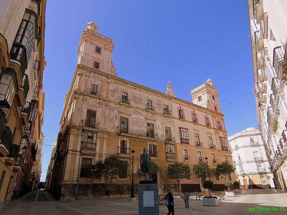 Cadix en Espagne - 2