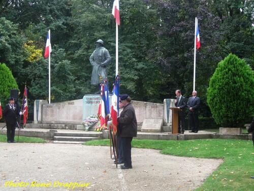 Commémoration de la libération de Châtillon sur Seine