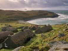 Garenin Black House Village Isle of Lewis Outer Hebrides Sc