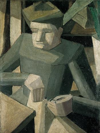 Fernand Léger, La couseuse