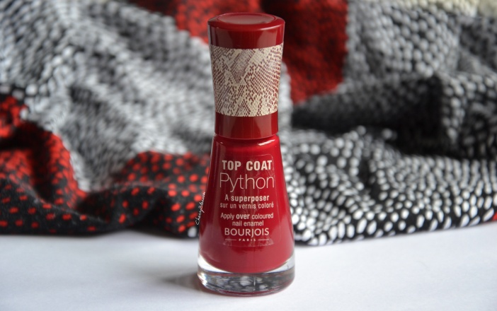 Le top coat python de Bourjois
