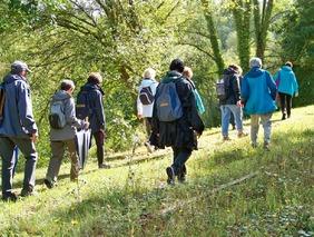 La balade du 24 septembre à Fleury-sur-Orne