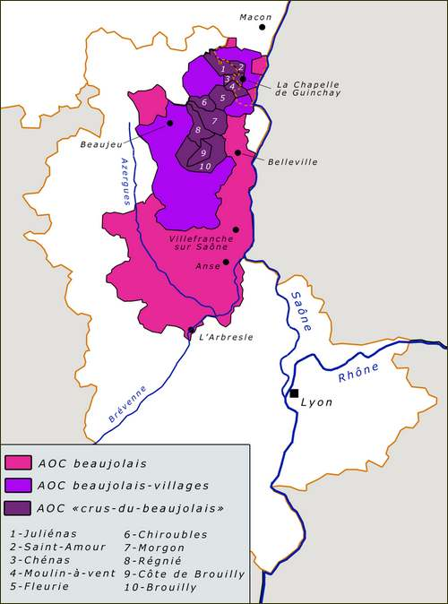 Le grand Almanach de la France : BEAUJOLAIS
