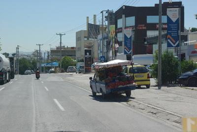 En périphérie d'Athènes: un petit air de Maroc