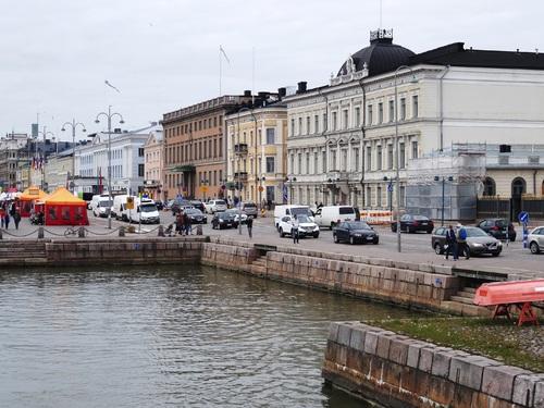Helsinki en Finlande: promenade sur la  presqu'île de Katajanokka (photos)