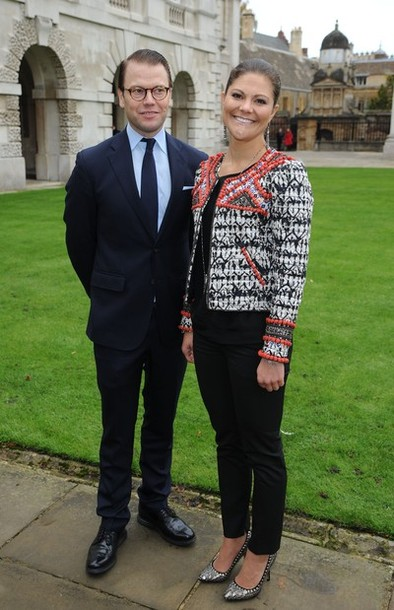 Victoria et Daniel à Cambridge