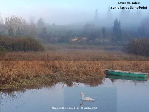 Le lac de Saint- point : un lac philosophe