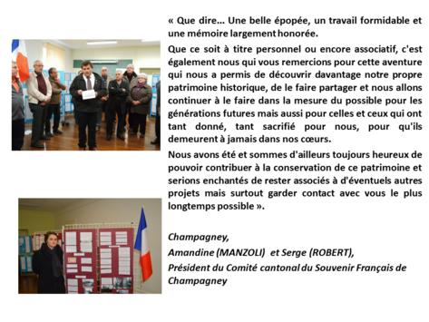 """* Avant de nous quitter... un partage de satisfaction(s) avec les contributeurs du projet """"Villes et Villages Libres..."""""""