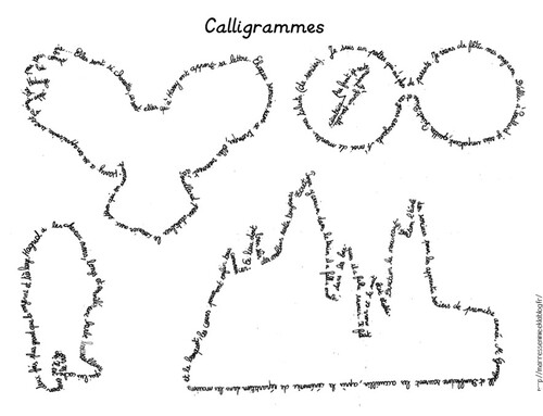 Calligrammes Harry Potter