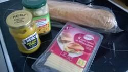 baguette artichauts maasdam