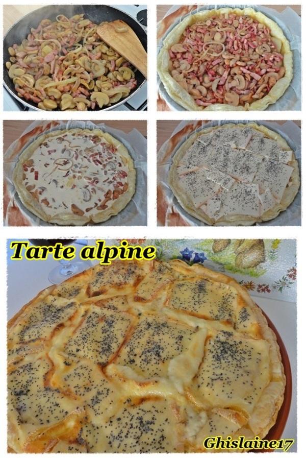 Tarte alpine