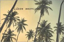 ✖Libre service.
