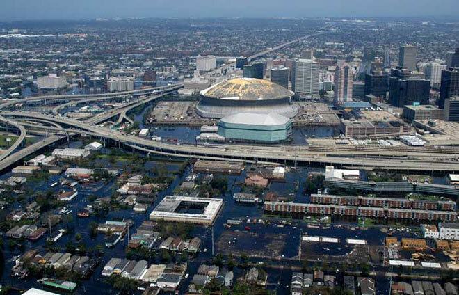 Nouvelle Orleans en septembre 2005