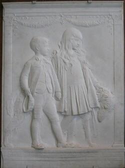 Bas-reliefs et bustes