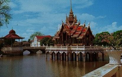 Thaïlande: Bang-Pa-In ou le palais d'été