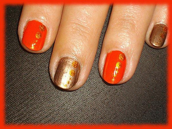 nail orange 5