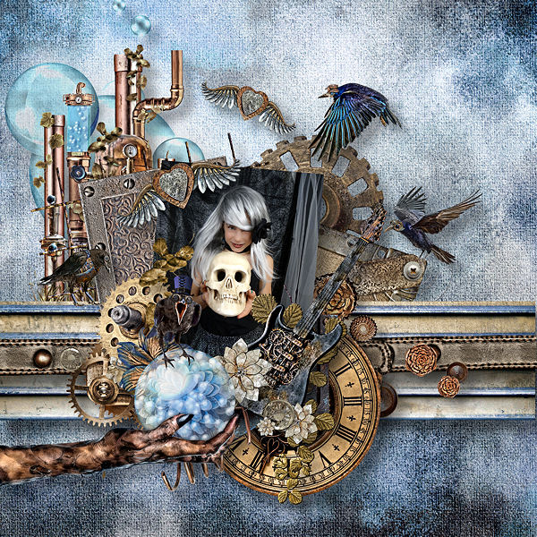 COLLECTION FANTASMAGORIA - MYSTERIOUS WORLD - STEAMPUNK BY DOUDOU'S DESIGN