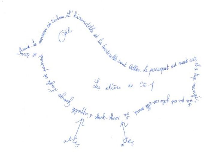 Les calligrammes
