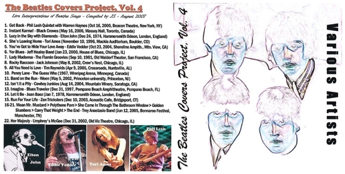 Cover me # 13: The Beatles Covers Project Volume 4