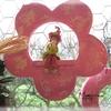a suspendre fleur-lutine