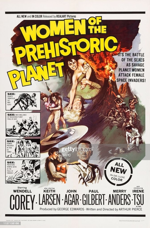 WOMEN OF THE PREHISTORIC PLANET BOX OFFICE USA 1966