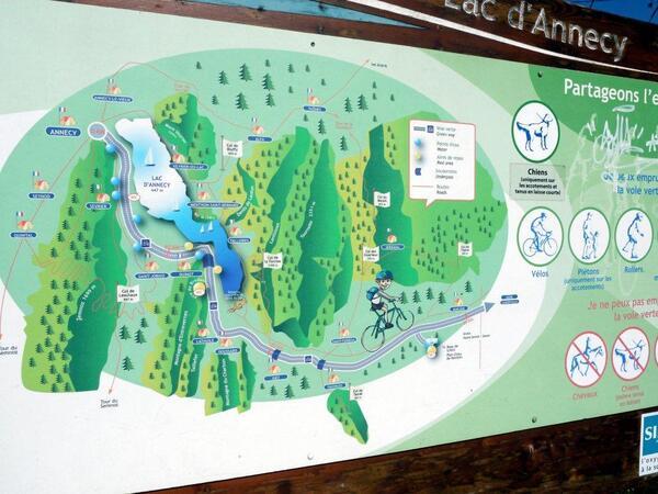 Le plan du Lac