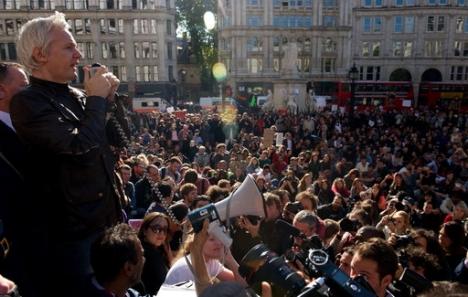 Discours de Julian Assange à Londres le 15 octobre