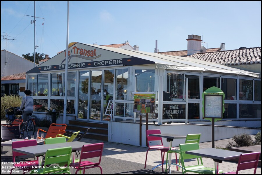 Restaurant  Le Transat à l'Herbaudière  Noirmoutier