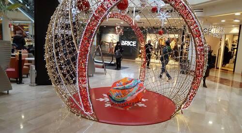 Belles ombrelles à Noël