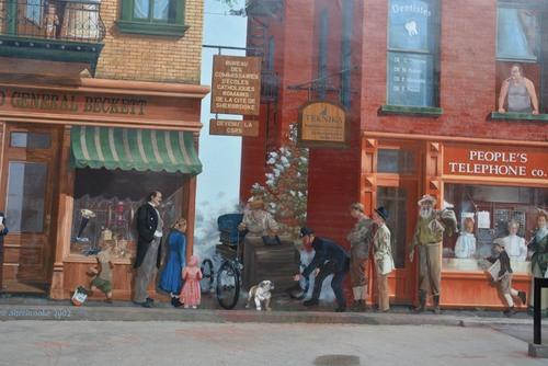 Sherbrooke - peintures murales
