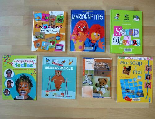 Loisirs créatifs : livres de la BDIV