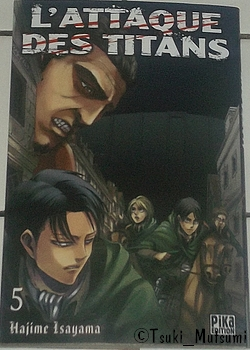 L'Attaque des Titans - tome 5