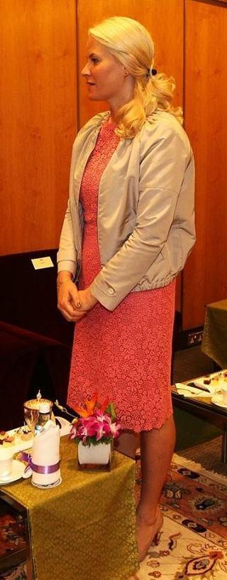 Mette Marit à la conférence de Kuala Lumpur