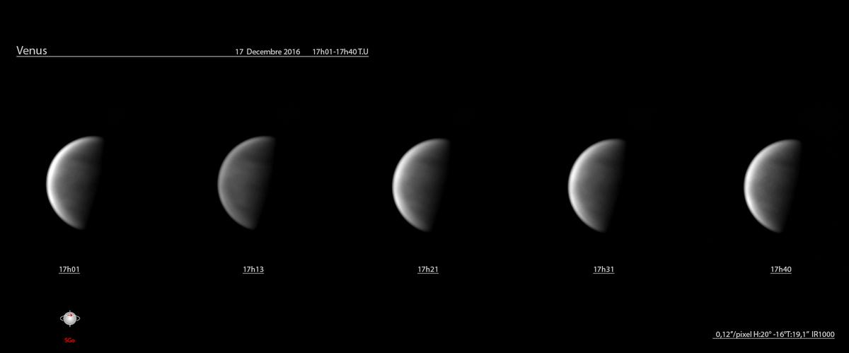 Venus le 17 decembre