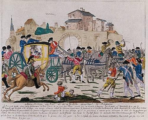 1007756-Arrestation de Louis XVI et de sa famille à Varenn