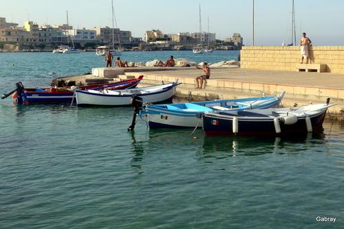 Italie: Otrante, le port… n 2