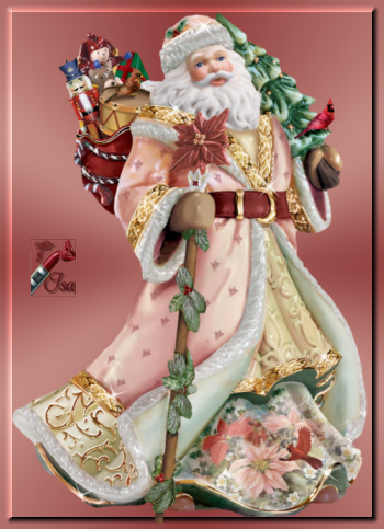 PN0013 - Tube Père Noël