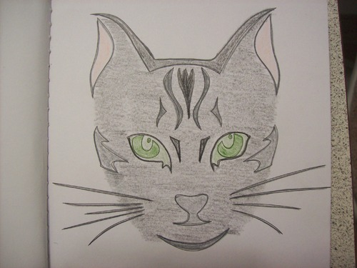 Coloriage Chats - Art