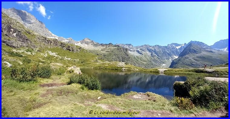 Valgaudemard, le lac du Lauzon