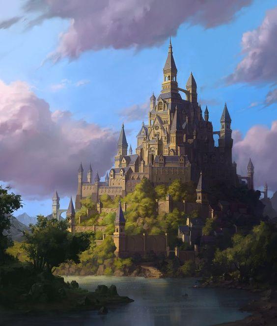 The castle, Whihoon Lee (whinbek) on ArtStation