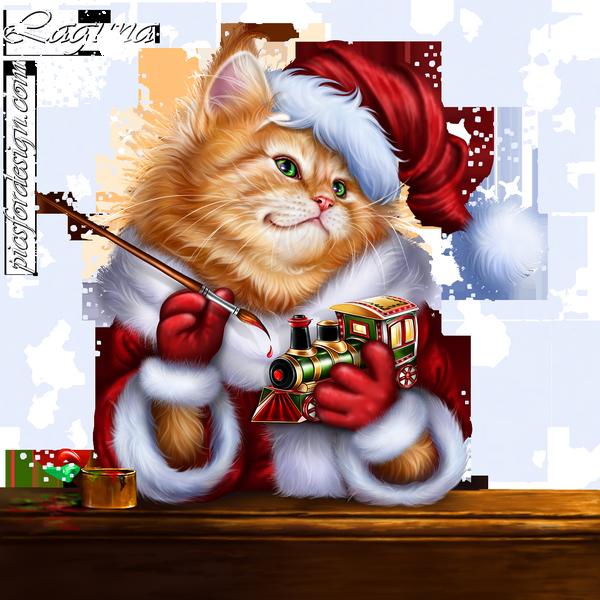 Tubes Animaux.. Noël
