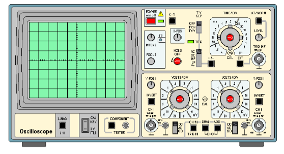 oscilloscope virtuel