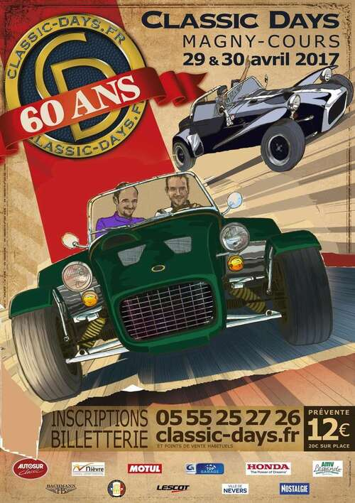 Affiche de Po Cal des classic days