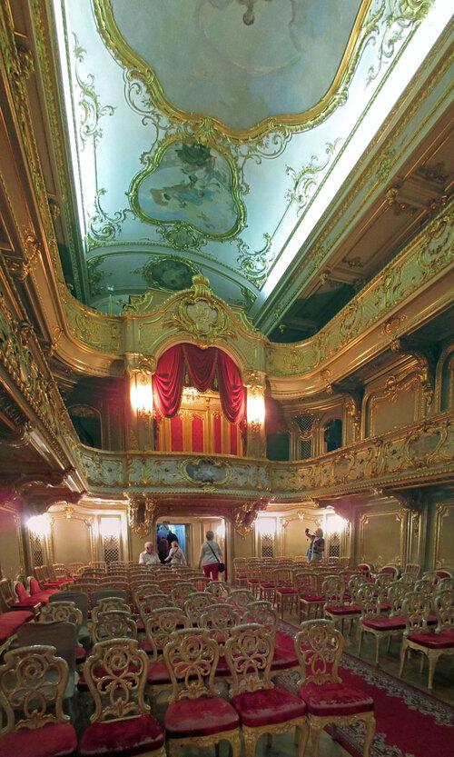 théâtre dans le palais de Youssoupov
