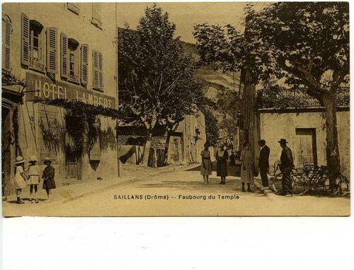 Grande Rue - angle de la Soubeyranne - années 1920/1930 - reproduction interdite ;