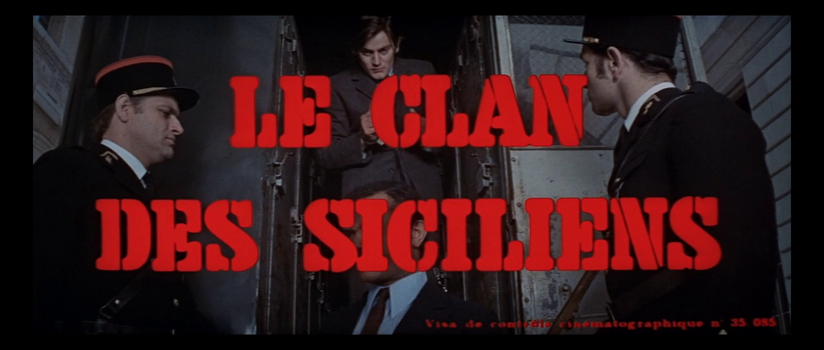 LE CLAN DES SICILIENS - BOX OFFICE JEAN GABIN 1969