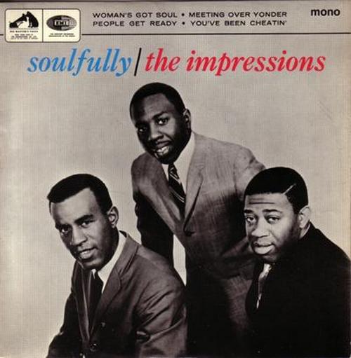 "1965 : EP "" Soulfully "" HMV Records EP PS 9854 [ UK ]"
