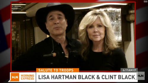 Photos de Lisa et Clint Black:duo à la ville et sur scène